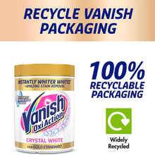 Load image into Gallery viewer, Vanish Gold Crystal White Powder 470g