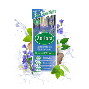 Zoflora Bluebell Woods Disinfectant 500ml