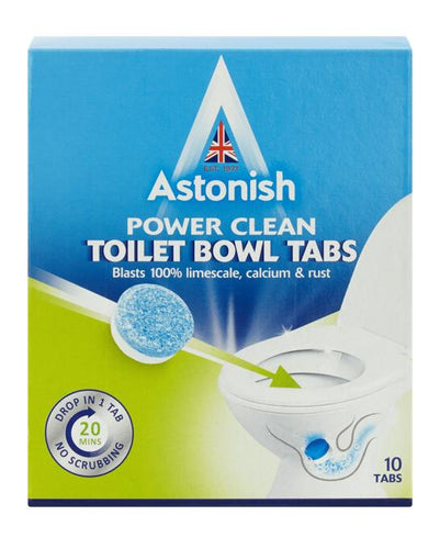 Astonish Toilet Bowl Power Clean tabs