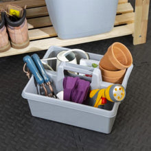 Load image into Gallery viewer, Grey Upcycled Kitchen Tidy Organiser
