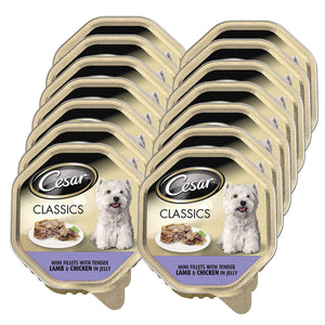 Cesar Dog Lamb & Chicken Tray 150g (Pack of 14)