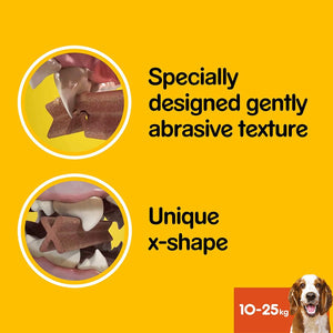 Pedigree Dentastix Daily Oral Care Medium Dog 77g (pack of 18)