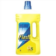 Load image into Gallery viewer, Flash All Purpose Cleaner Lemon Bottle 1L