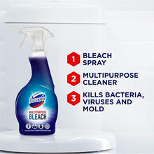 Load image into Gallery viewer, Domestos Spray Bleach 450ml multi purpose cleaner