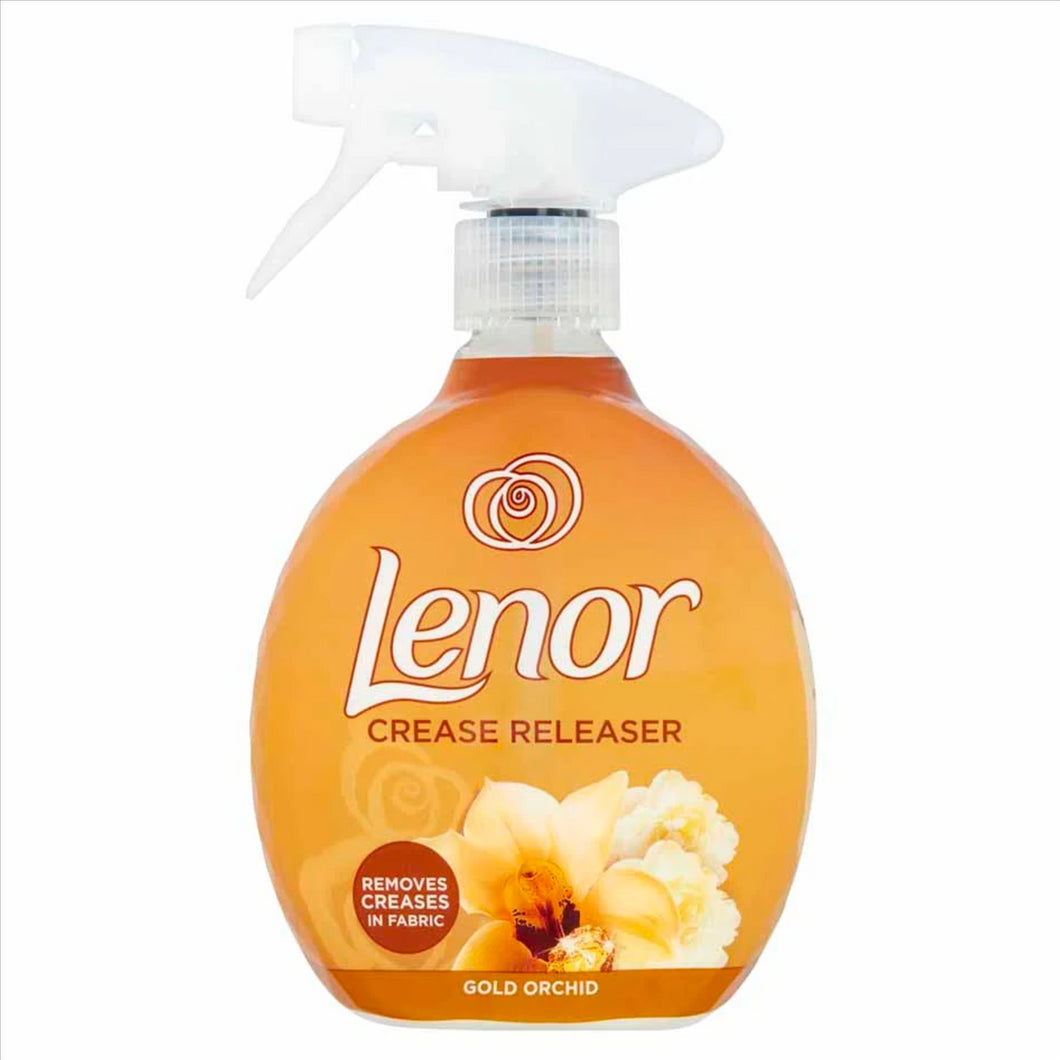 Lenor Crease Releaser 500ml Gold Orchid