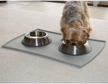 Load image into Gallery viewer, Anti-Slip Dog Steel Bowl 450ml