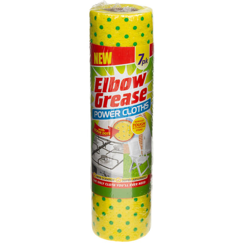 Elbow Grease Power Cloths 7 sheets