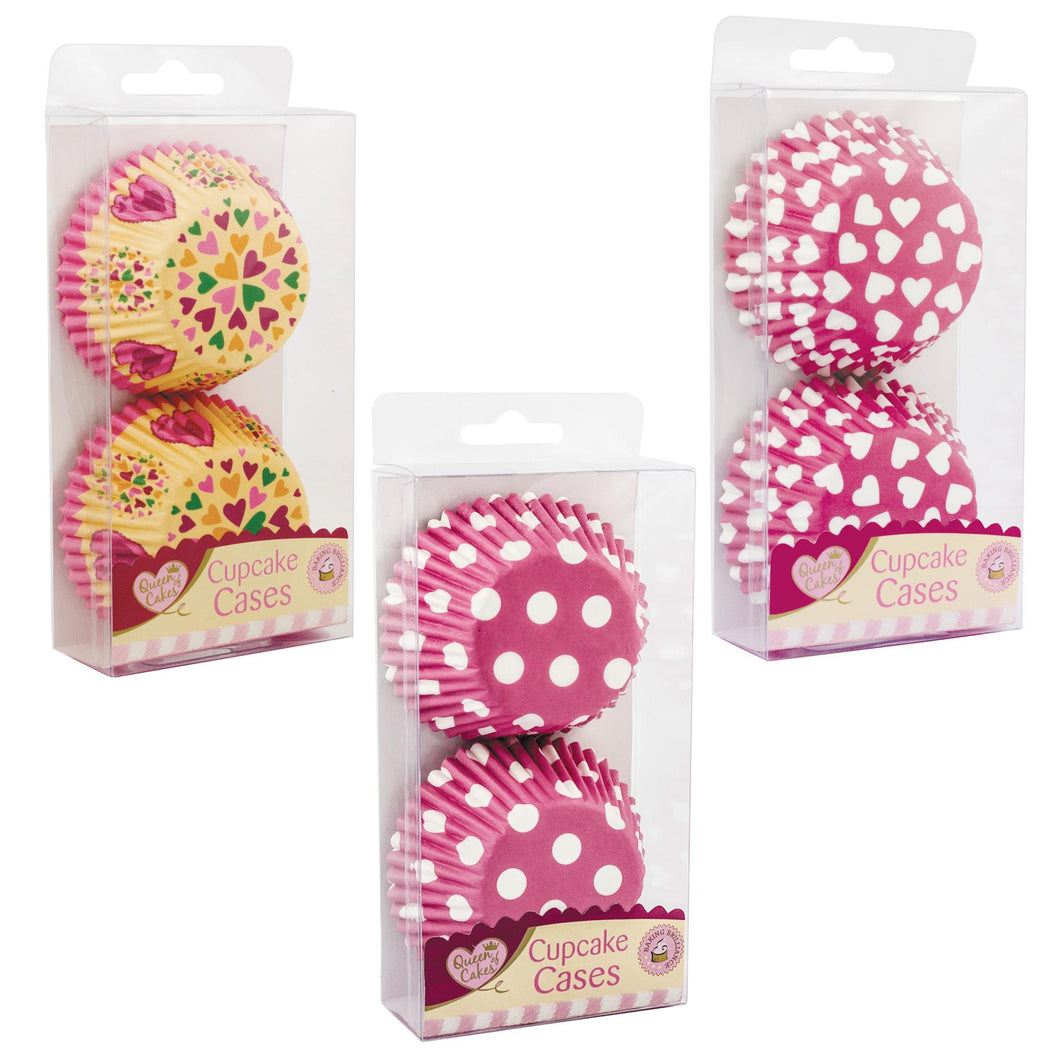 Queen Of Cakes Assorted Cupcake Cases - 60