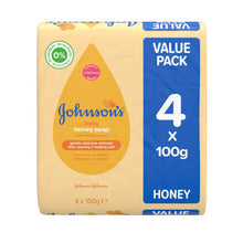 Load image into Gallery viewer, Johnson's Baby Soap Honey (Pack of 4)