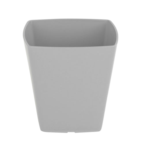 Grey Square Plant Pot Cover 14cm