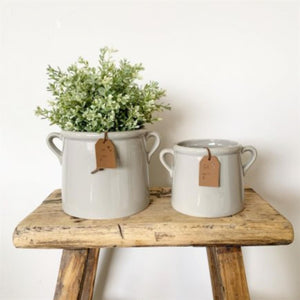 For You Grey Pot (10cm)