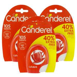 Canderel Sweet Tabs 105's (Pack of 3)