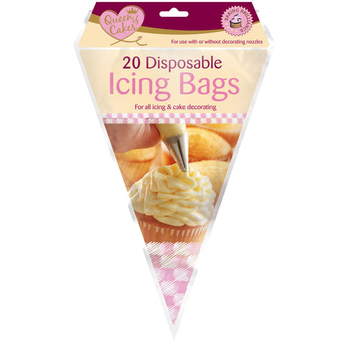Queen Of Cakes 10 Dual Icing Bags