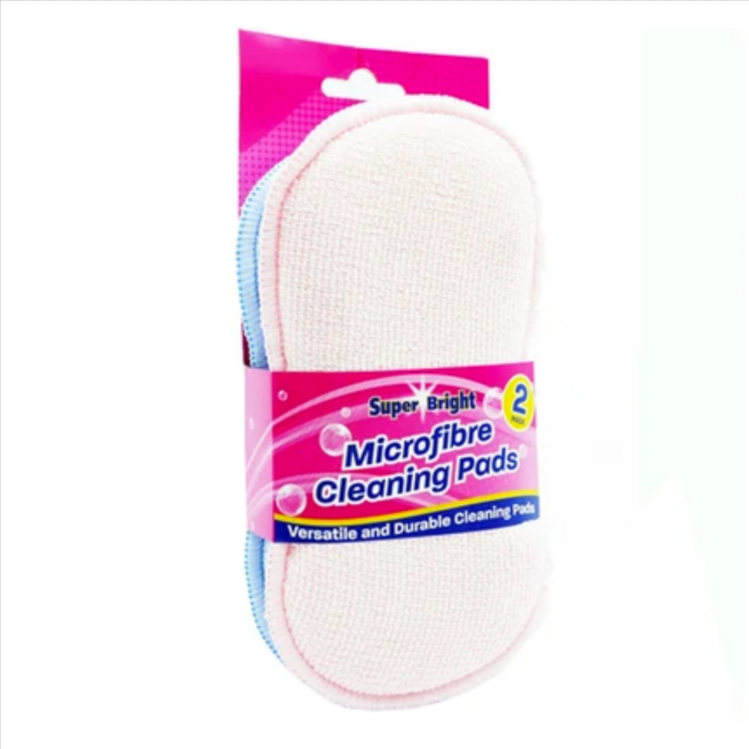 Superbright Microfibre Cleaning Pads 2's