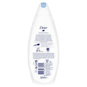 Dove Body Wash Gentle Exfoliating 225ml