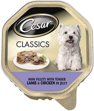 Load image into Gallery viewer, Cesar Dog Lamb & Chicken Tray 150g (Pack of 14)