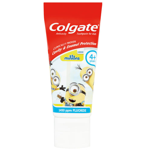 Colgate Minions Toothpaste Mild Flavour 4+ years 50ml