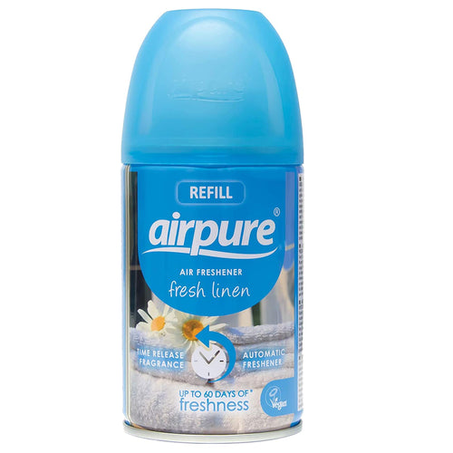 Airpure Fresh Linen Air Freshener Refill 250ml