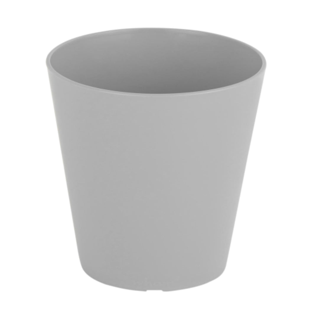 Grey Round Plant Pot Cover 14cm