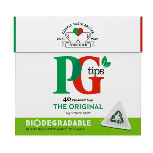 PG Tips Pyramid Teabags 40's