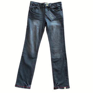 Charcoal Slim Fit Denim Jeans