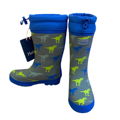 T- Rex Sherpa Lined Rainboots
