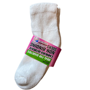 Ultimate Non-Binding Quarter Socks 2 Pair Pack