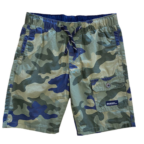 Camo Side Pocket Shorts
