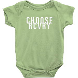 Choose RCVRY Infant Onesies