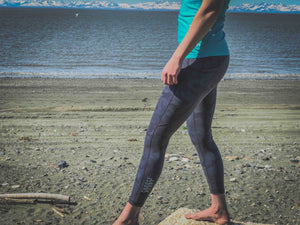 Leggings Choose RCVRY Slate Camo