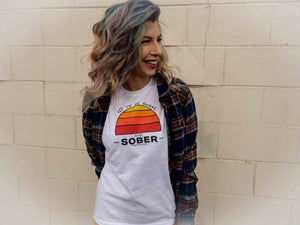 Let Us Be Awake Sober Women's Relaxed T-Shirt