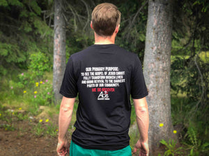 Acts 2:47 Recovery Church Soldotna Men's T-shirt BLACK