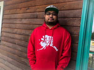 Acts 2:47 Recovery Church Soldotna Hoodie RED