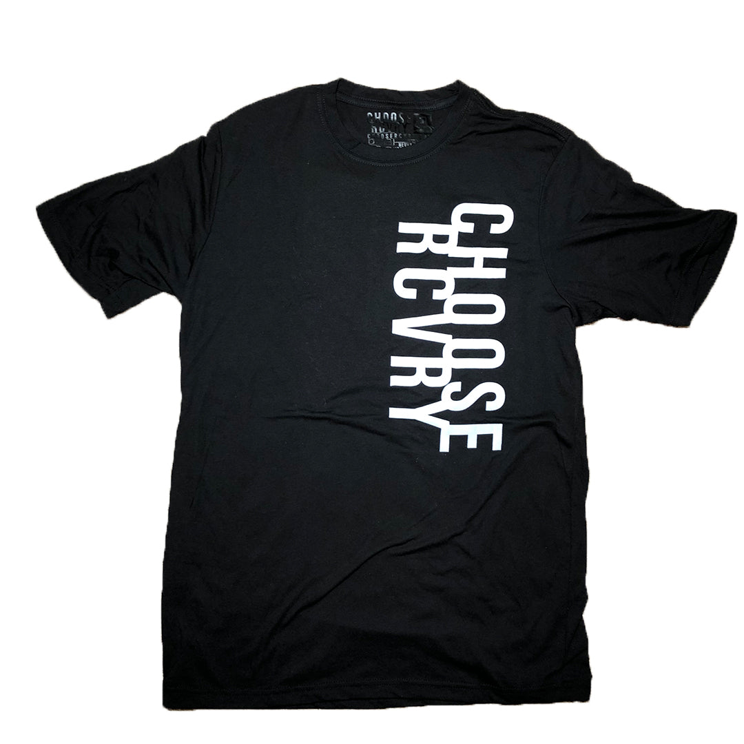 Choose RCVRY Unisex T-Shirt BLACK