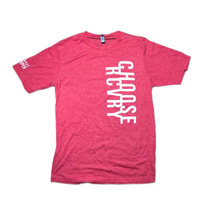 Choose RCVRY Unisex T-Shirt RED