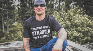 Together We Are Stronger Than... T-shirt Unisex Black