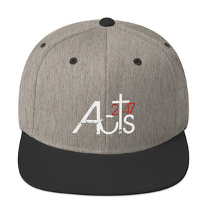 Acts 2:47 Colored Snapback Hat