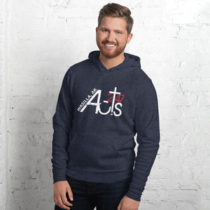 Acts 2:47 Wasilla Hoodie WITH back mission statement