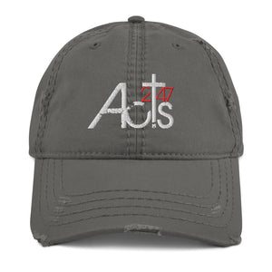 Acts 247 Distressed Dad Hat