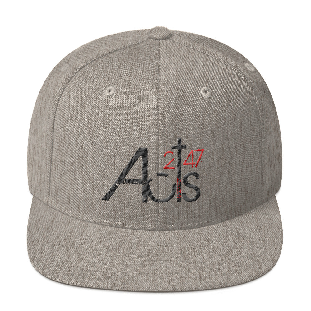 Acts 2:47 Snapback Hat