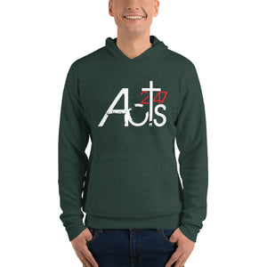 Acts 2:47 Unisex hoodie (Just Front Graphic)
