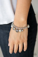 Load image into Gallery viewer, Paparazzi Accessories - Bracelet More Amour - Silver