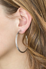 Load image into Gallery viewer, Paparazzi - Girl Gang Earrings - Silver