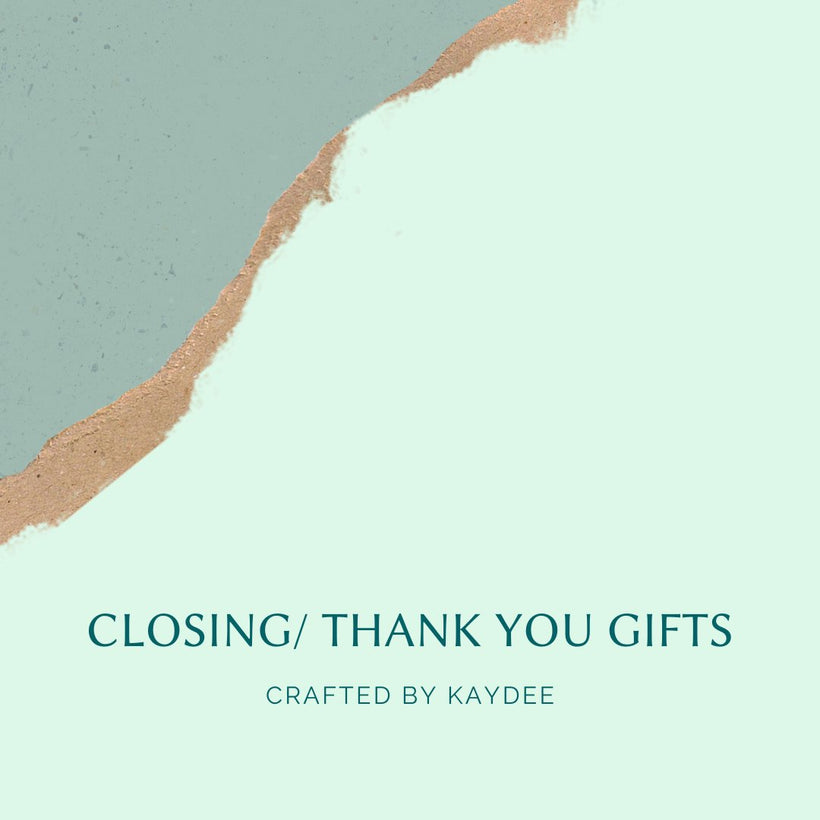 Closing Gifts Collection