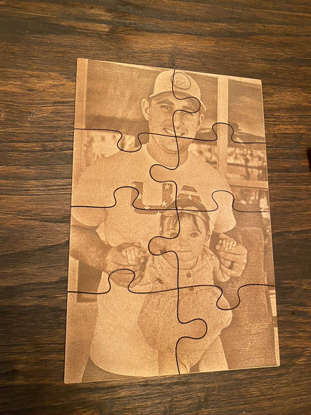 Photo Engraved Puzzles