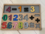 Child Math Table