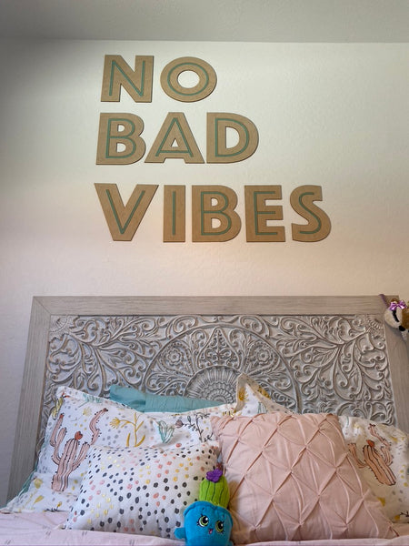 Bedroom Wall Lettering