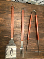 Engraved Grilling Set