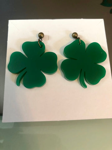 Four Leaf Clover Earrings 🍀