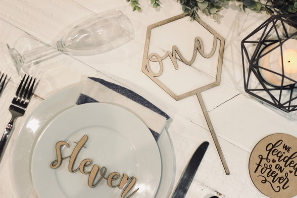 Name Place Settings 🍽